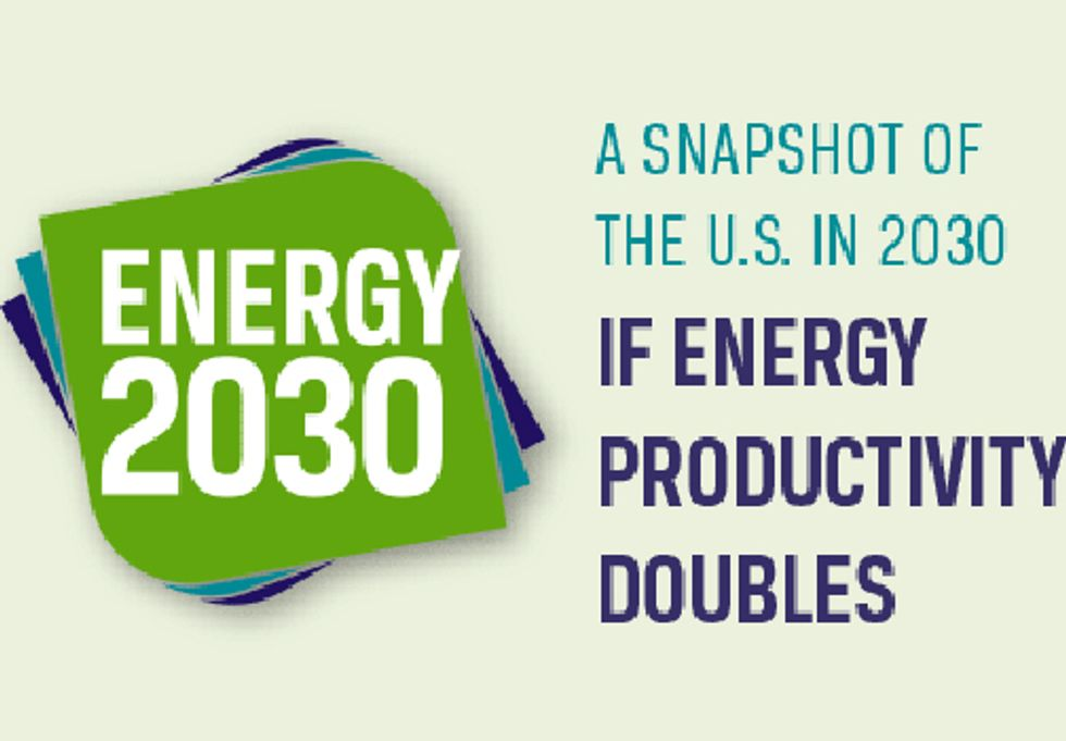 Report Shows How Energy Efficiency Can Cut Energy Usage in Half by 2030