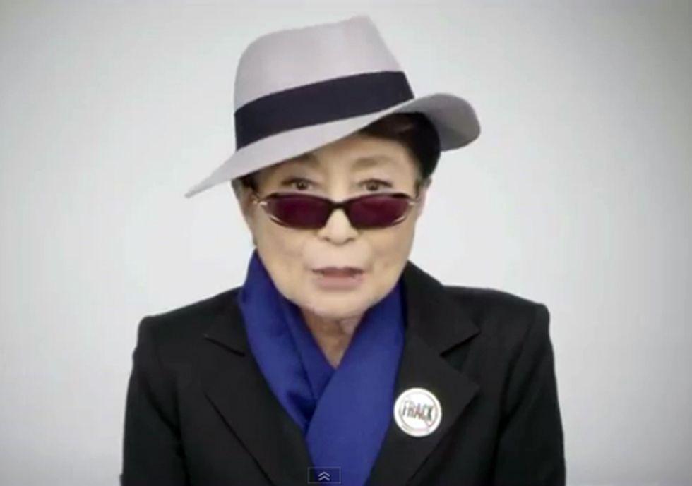 Yoko Ono Buys TV Ad Time to Speak to Gov. Cuomo About Fracking