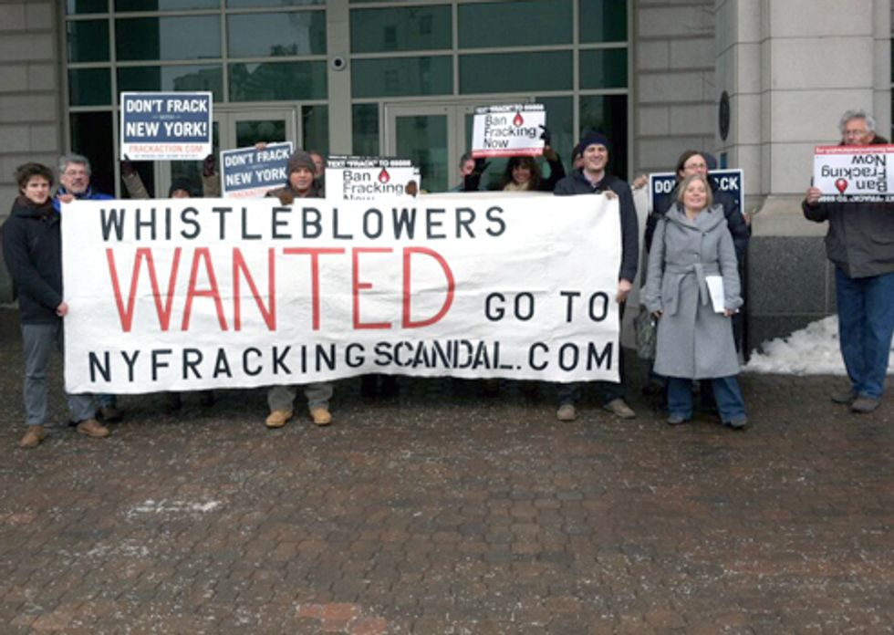 New Website Exposes NY Fracking Scandal