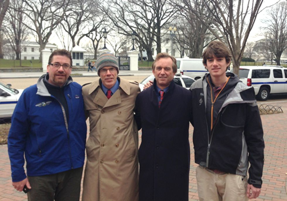 Robert F. Kennedy, Jr., Bill McKibben, Michael Brune, Among Others Will Risk Arrest Today at White House to Stop Tar Sands, Keystone XL Pipeline