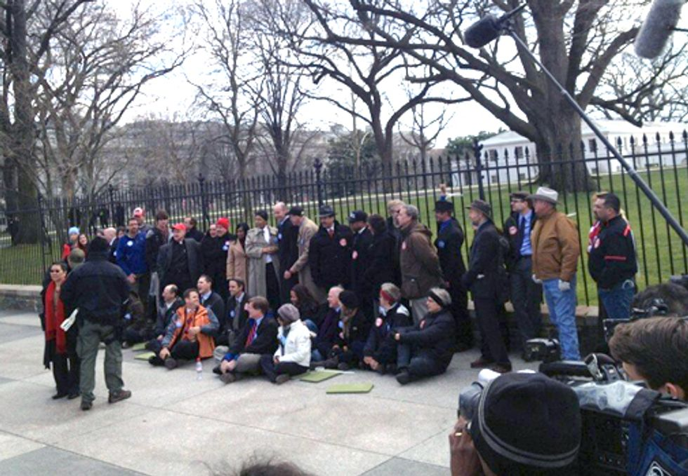 48 Leaders Arrested in Historic Act of Civil Disobedience to Stop Keystone XL Pipeline