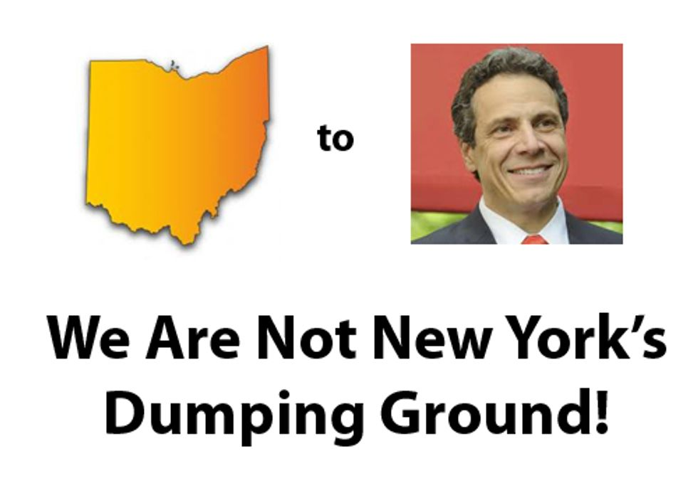 Ohio to Gov. Cuomo: We Are Not New York's Dumping Ground