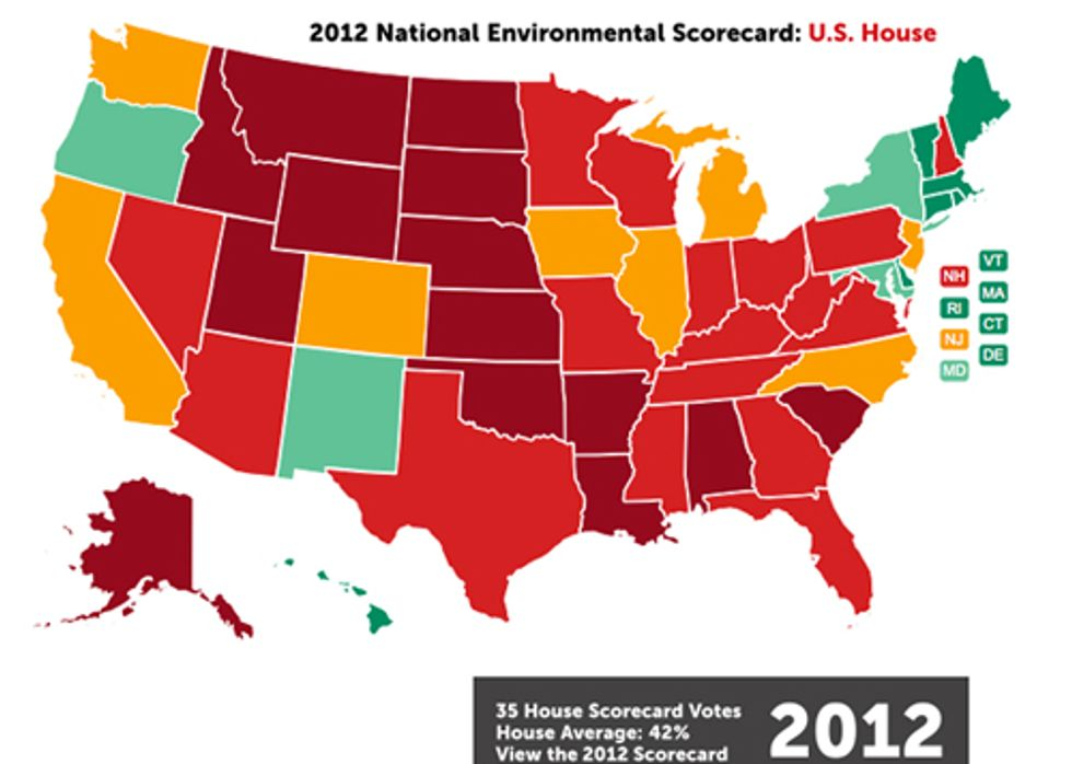 Environmental Scorecard: How Your Elected Officials Voted in 2012