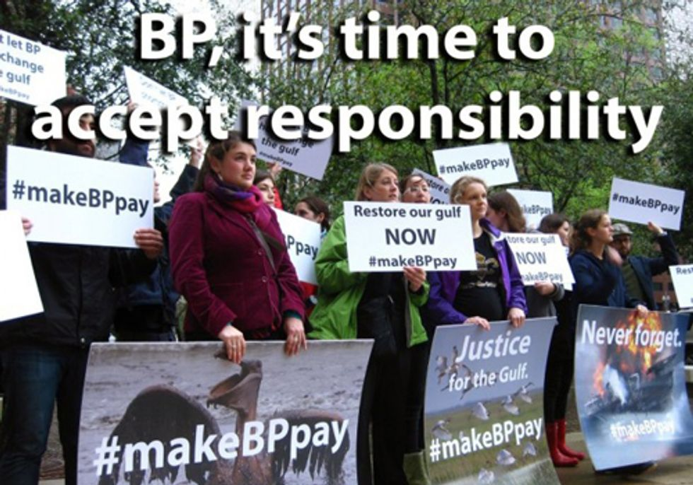 Gulf Residents Ask DOJ to Hold BP Fully Accountable
