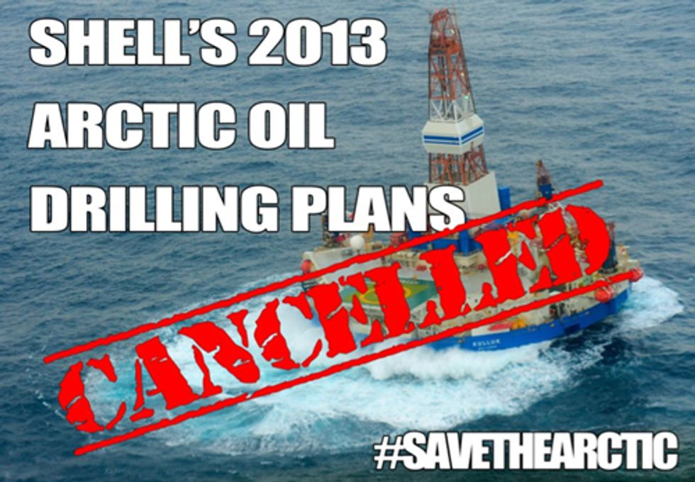 Shell Abandons 2013 Arctic Drilling
