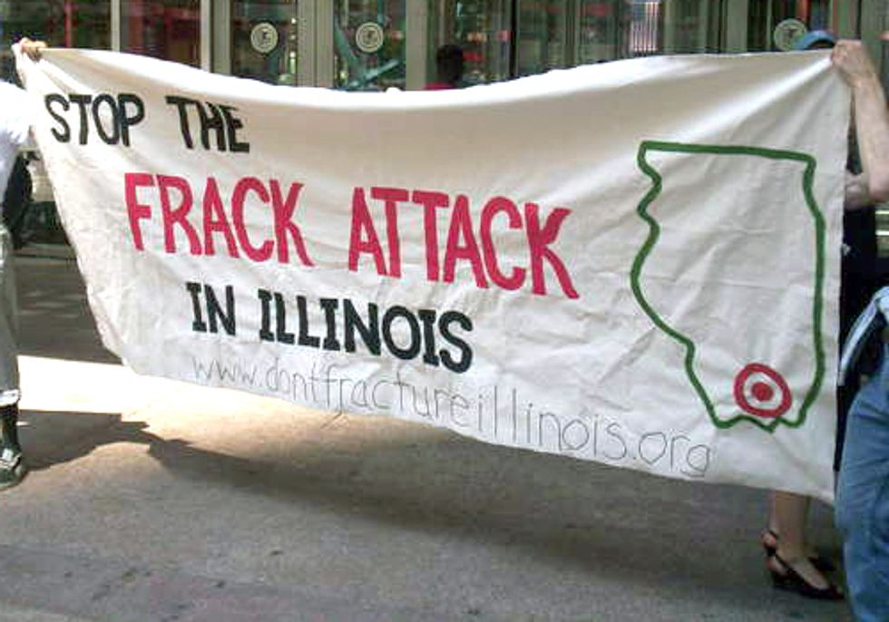 Illinois Fracking Bill Contains Industry-Friendly ALEC Language