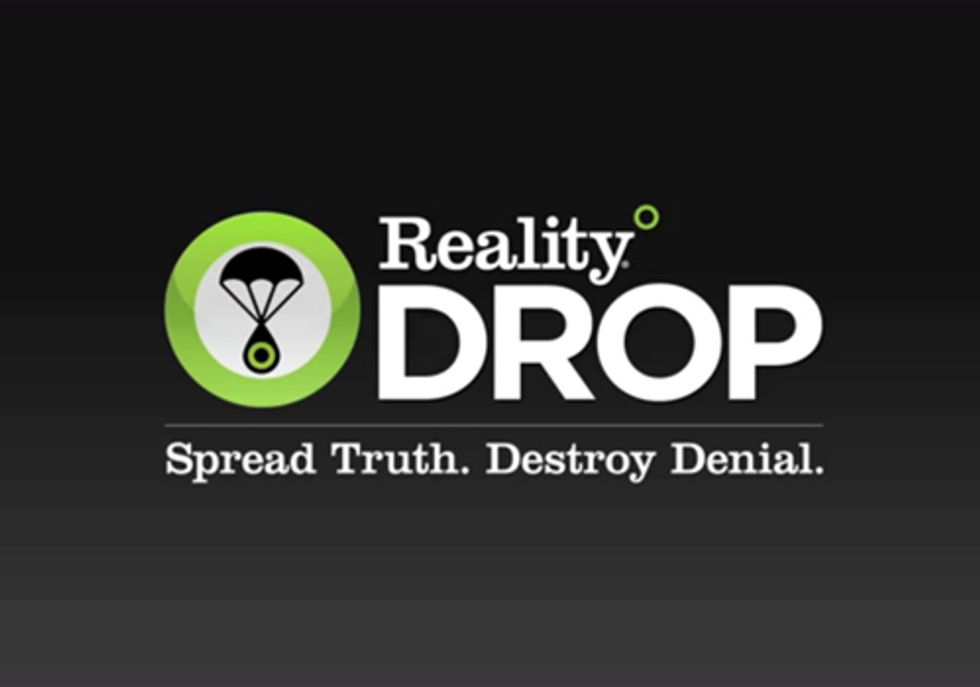 Reality Drop: A New Way to Fight Climate Denial