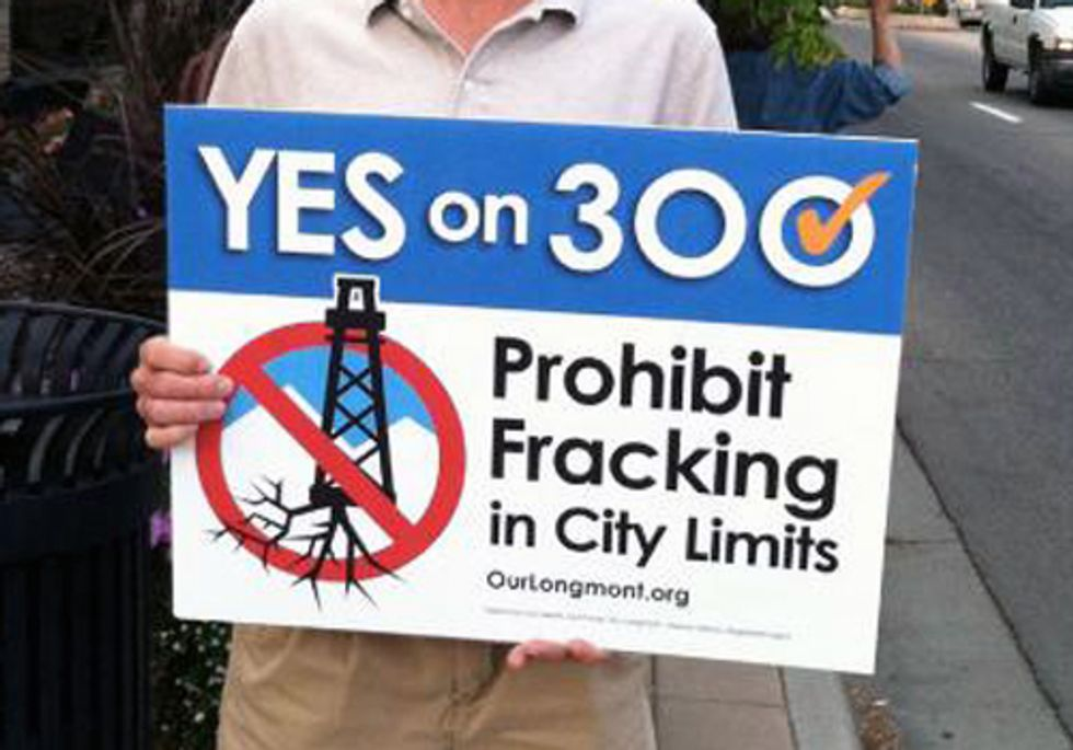 Coalition Acts to Protect Longmont's Constitutional Right to Ban Fracking