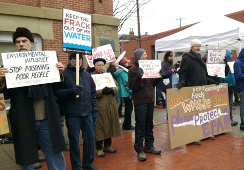 Ohio is Not the Nation's Fracking Waste Toilet