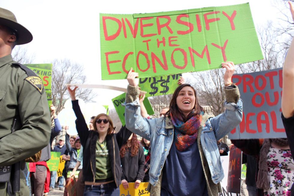 Appalachians Unite in Calling for an End to Extreme Fossil Fuel Extraction