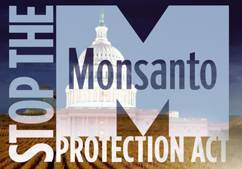 President Obama Signs 'Monsanto Protection Act'