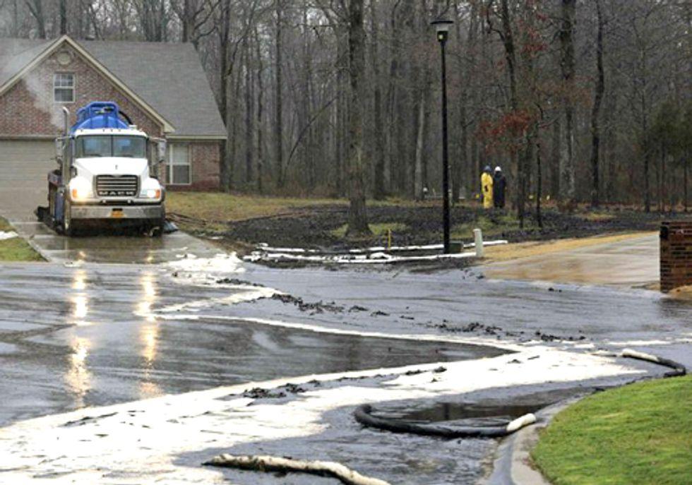 Exxon Mobil Pipeline Rupture and Train Derailment Oil Spill Exemplify Concerns of Keystone XL