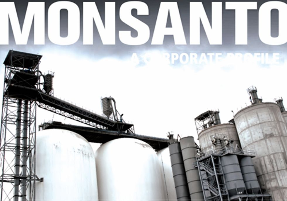 Monsanto: A Corporate Profile Sheds Light on GE Seed Giant's Dark History