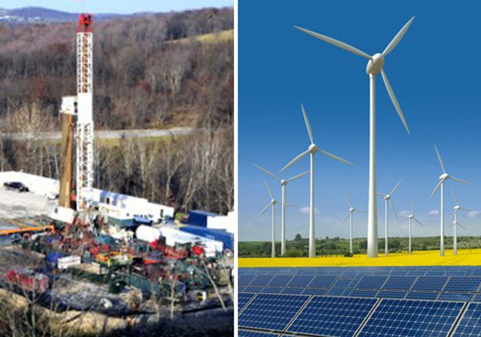 Fact vs. Fiction: How Renewables Outshine Fracking