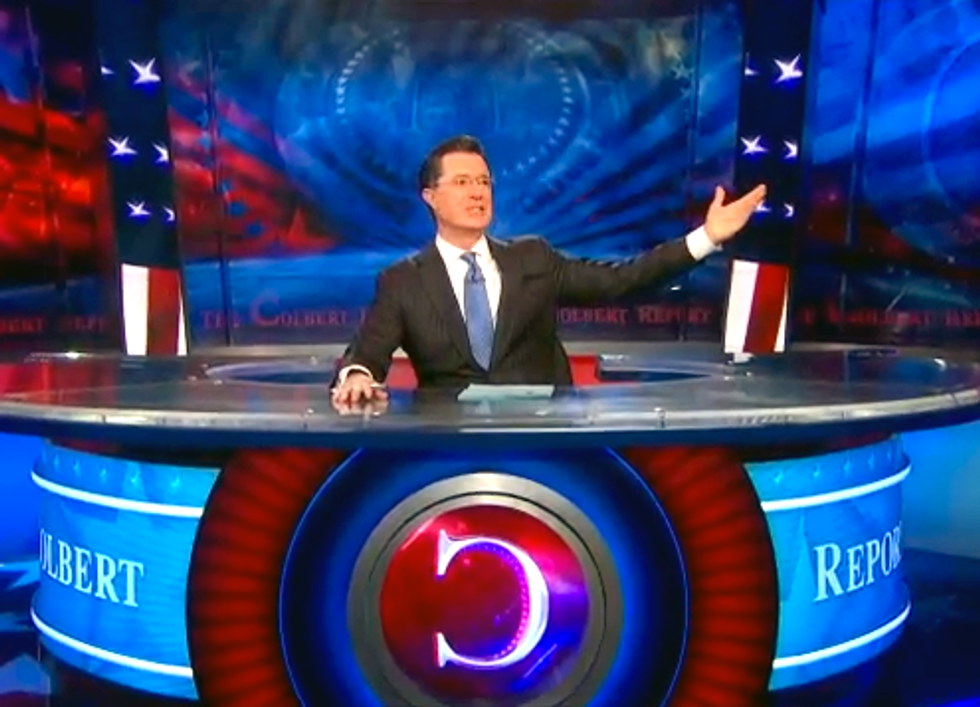 Colbert's at It Again, Providing Comic Relief About the Exxon Tar Sands Pipeline Spill
