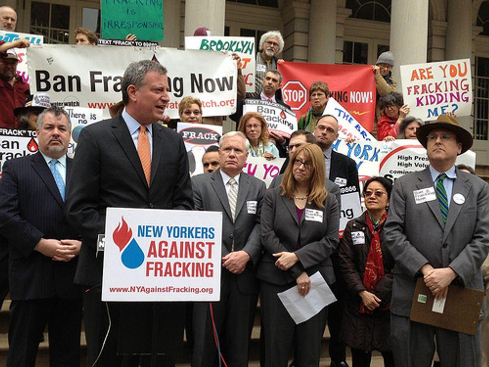 NYC Mayoral Hopeful Calls for Fracking Moratorium