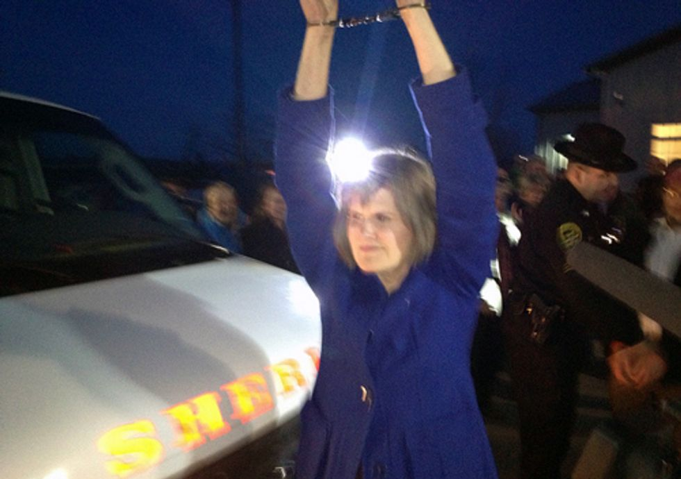 Three Arrested at Court Appearance for Protesting Fracking Infrastructure Storage Site