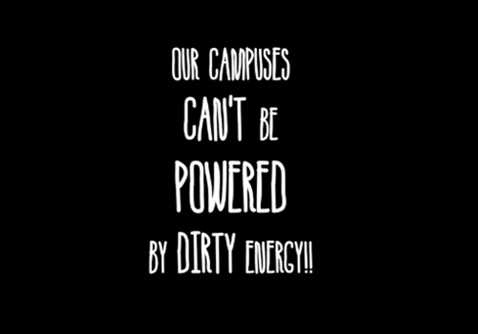 Students Take Back Earth Day, Demand Divestment from Fossil Fuels