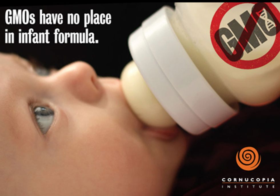 Pressure Mounts to Remove Genetically Engineered Ingredients from Infant Formula