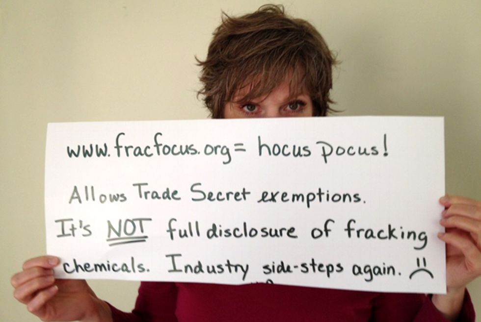 Harvard Study: FracFocus Fails to Provide Adequate Disclosure for Fracking Chemicals