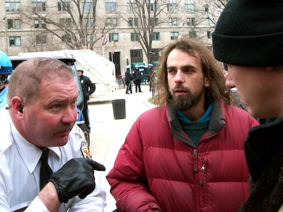 Climate Activist on Day 29 of Hunger Strike