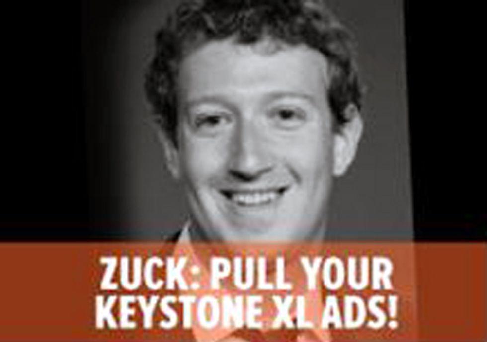 Facebook Bans Ad Criticizing Mark Zuckerberg's Pro-Keystone XL Stance