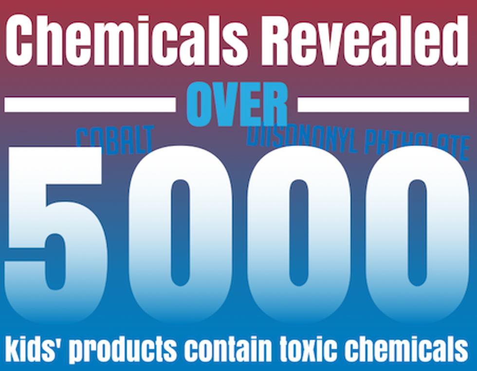 5,000 Children's Products Contain Toxic Chemicals Linked to Cancer