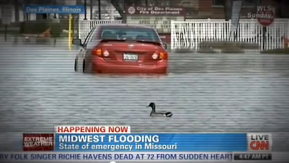 Mainstream Media Ignores Connection Between Climate Change and Severe Weather, Again
