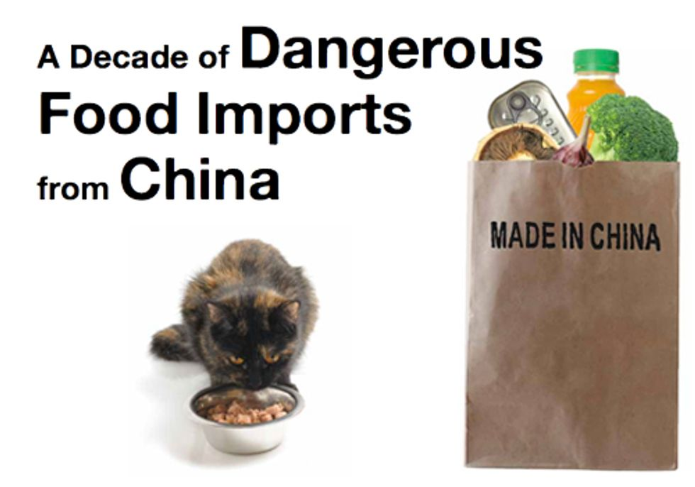 Food Imports from China Under Scrutiny for Fraud and Lack of Inspection