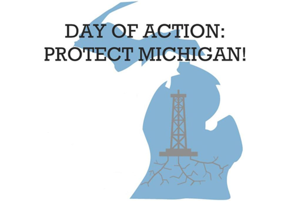 Michigan Groups Rally to Stop Fracking on Public Lands