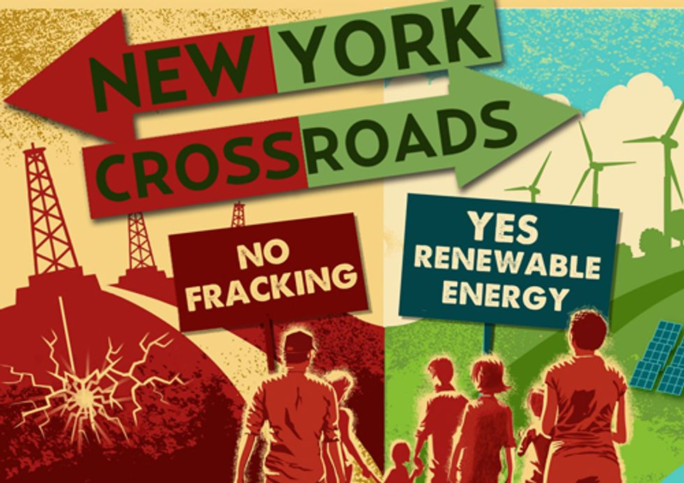 Improve Your World: No Fracking, Yes Renewable Energy