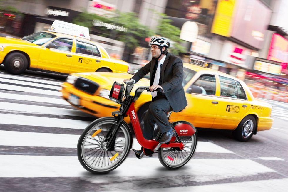 Dozens of U.S. Cities Join the Bike-Sharing Bandwagon