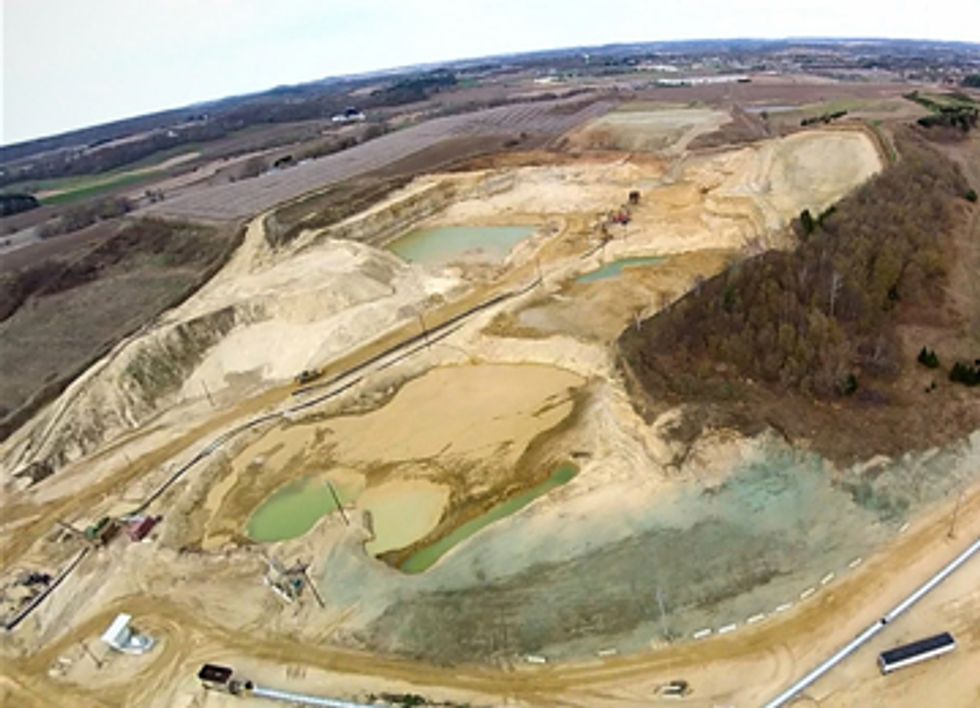 Frac-Sand Mining's Promise of Economic Prosperity Fails to Materialize