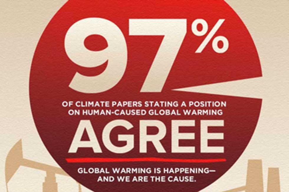 97 Percent of Scientists Agree Climate Change is Man-Made