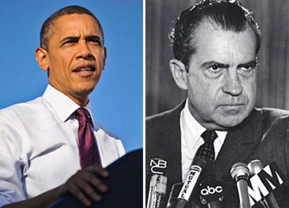 Obama and Nixon: A Historical Perspective