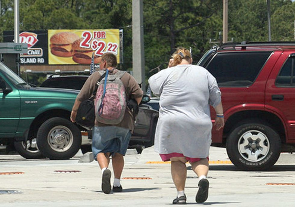A Global Shift toward Obesity Has Serious Climate Consequences