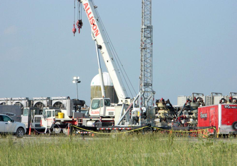 Methane Leak Detected at Marcellus Fracking Well