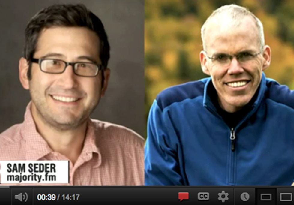 Sam Seder Interviews Bill McKibben About the Importance of Direct Action at Netroots Nation