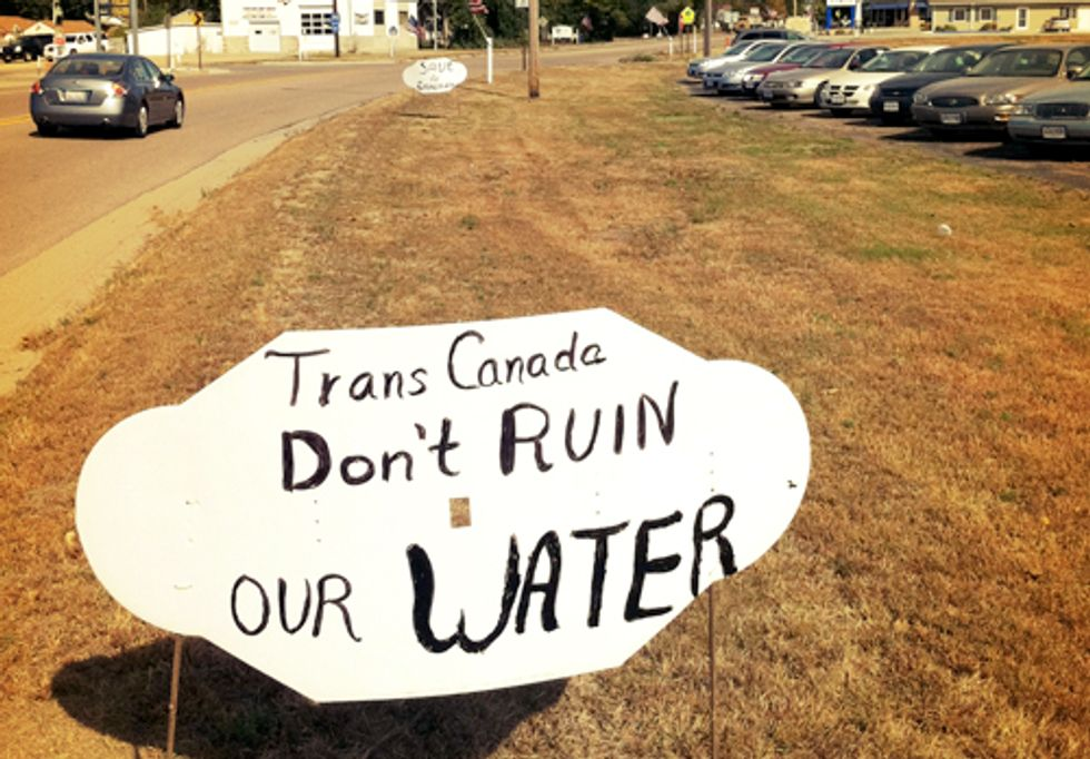 What If a Tar Sands Oil Spill Happened Today?