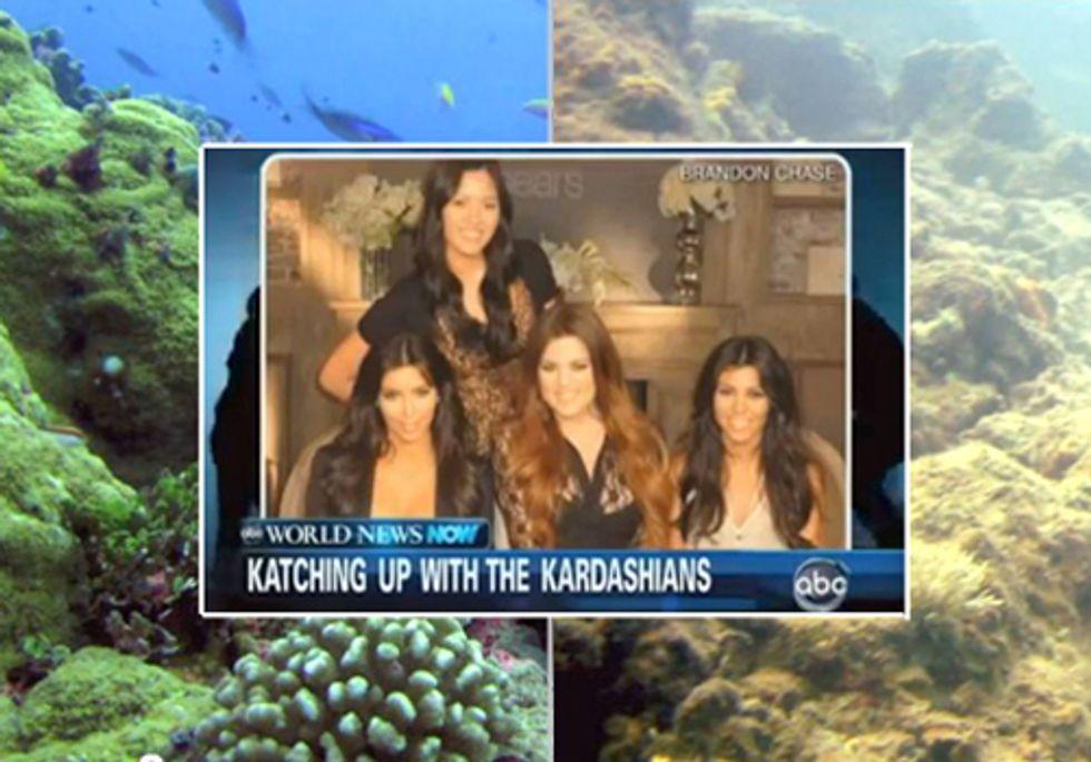 Kardashians Get 40 Times More News Coverage than Ocean Acidification