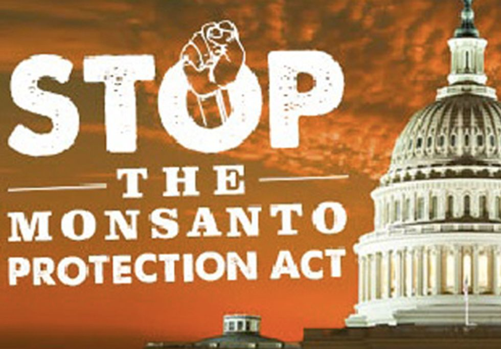 More than 300,000 Oppose the 'Monsanto Protection Act'