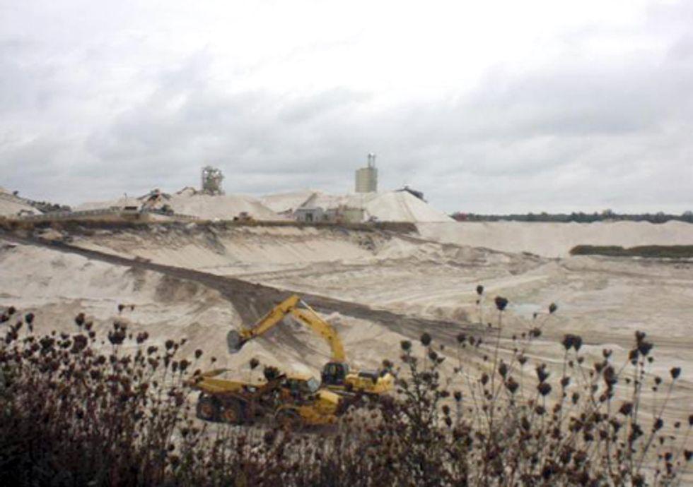 Frac-Sand Mining Destroys Communities and Fertile Farm Lands