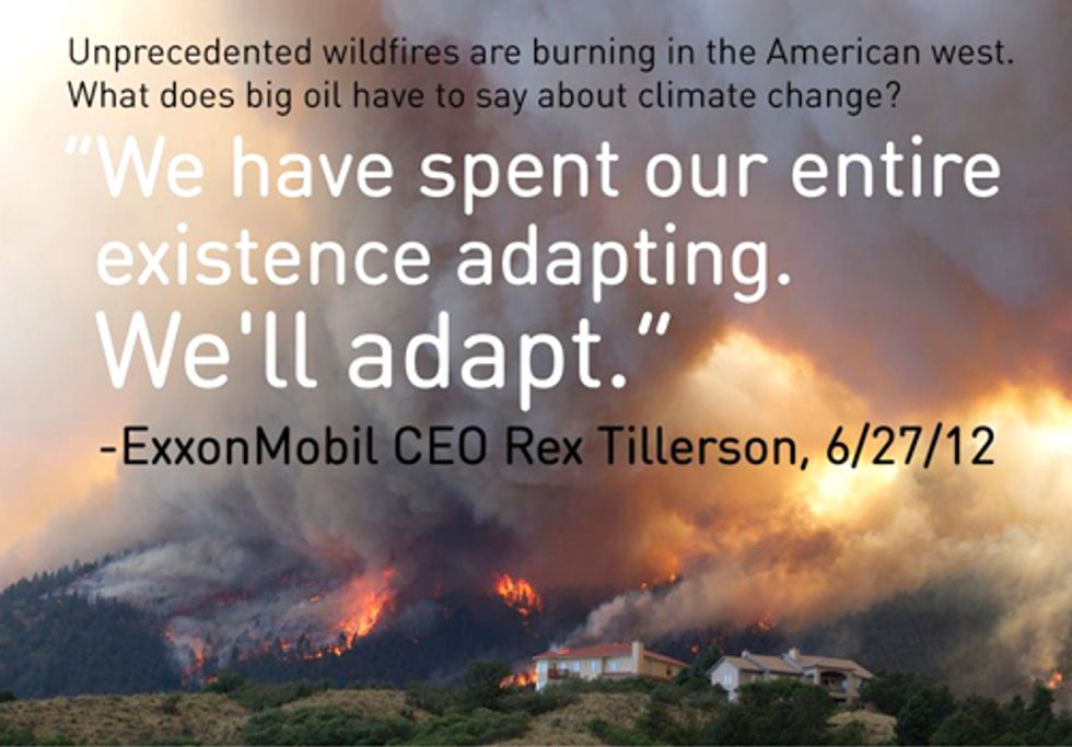 As Extreme Weather Grips the Nation, Exxon CEO Says Climate Change 'Overblown'