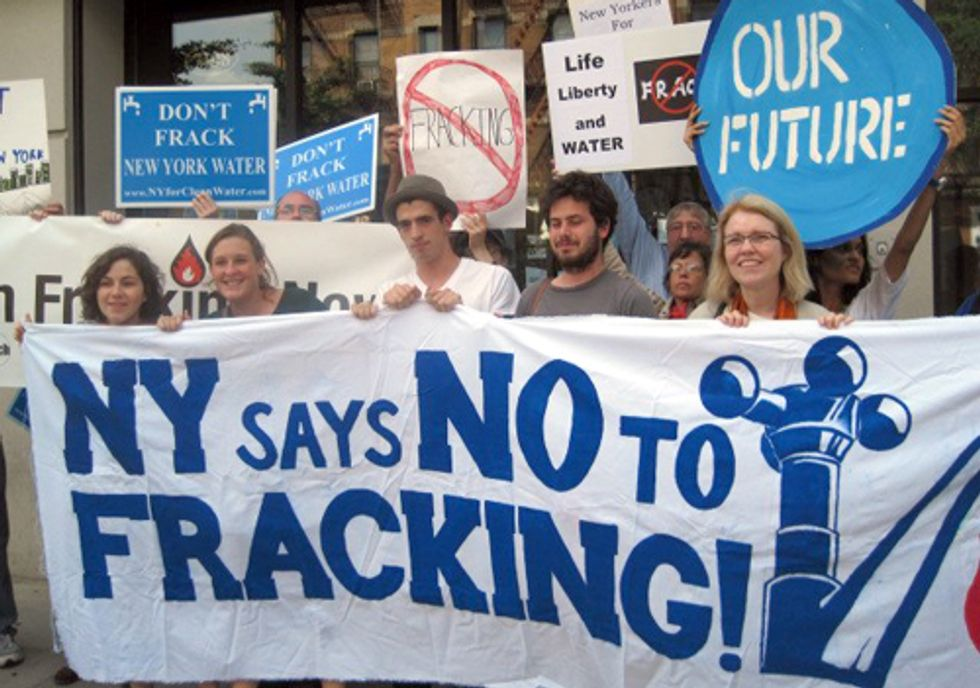 ACTION: All Hands on Deck in the Fight against Fracking New York