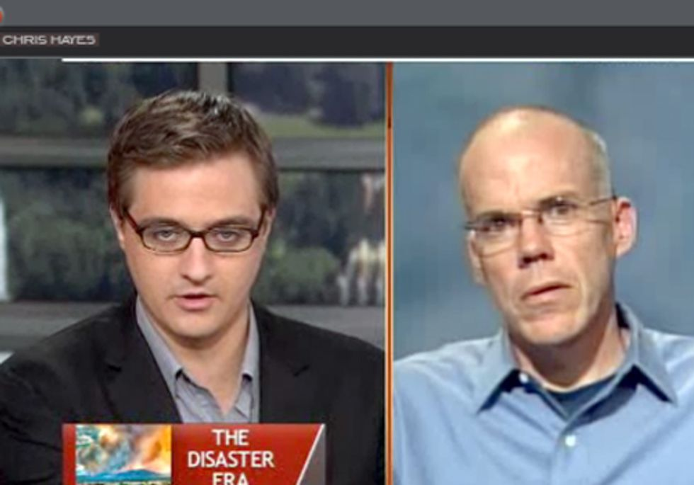 MSNBC's Chris Hayes Talks with Bill McKibben about Solving the Climate Crisis