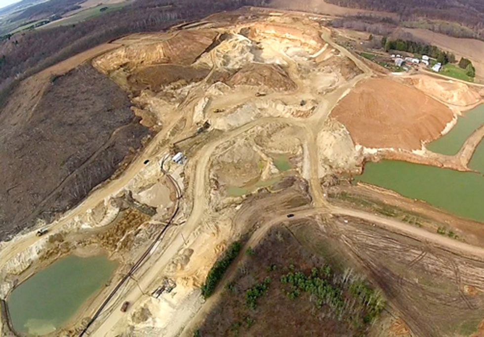 Destroying Our Environment for Frac-sand