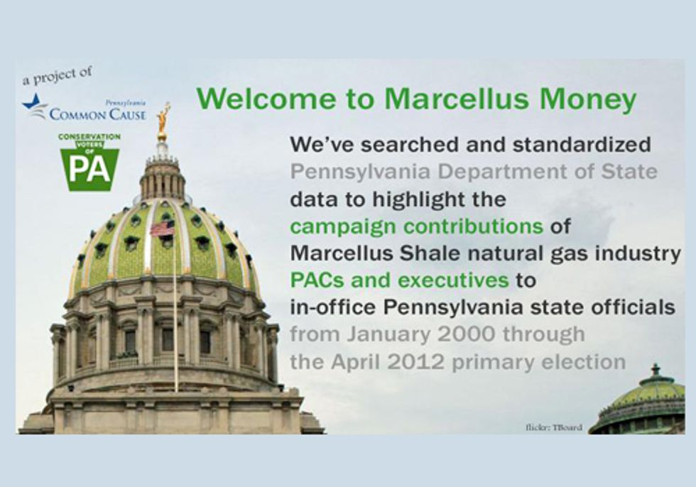 Pennsylvania Statehouse Bought and Sold by Fracking Industry
