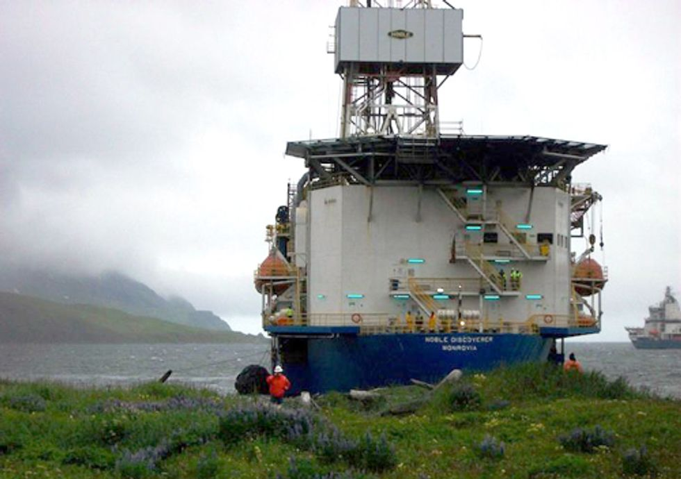 Shell Asks EPA for Permission to Violate the Clean Air Act in Arctic