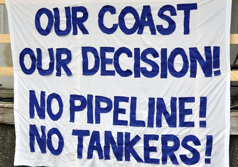 Living Oceans Society Condemns Northern Gateway Tar Sands Pipeline