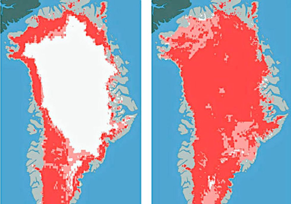 The Story behind Greenland's Record Ice Loss